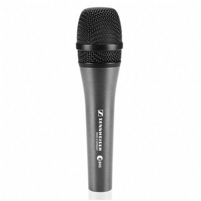 Sennheiser: e845 with Noiseless and Lockable On/Off Switch