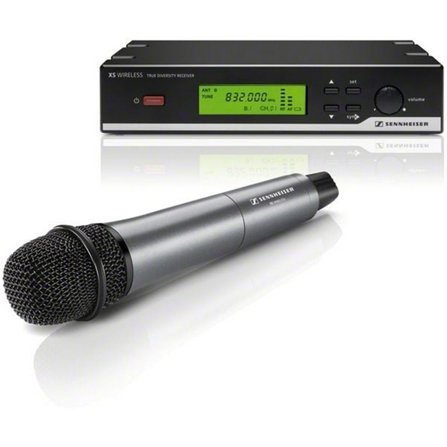 Sennheiser: Vocal set with dynamic cardioid microphone with e835 capsule A Range (548...572 MHz)