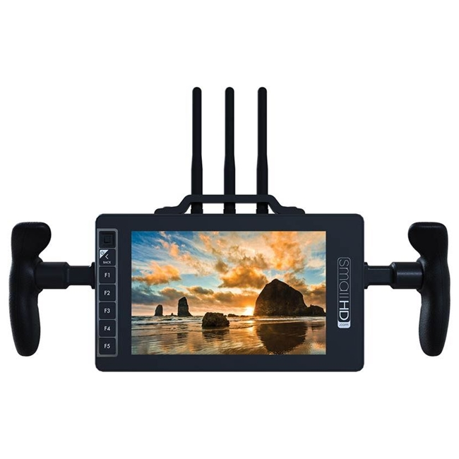 SmallHD: 703 7 Inch Ultra-Bright Full HD Field Monitor with Built in Teradek Sidekick II