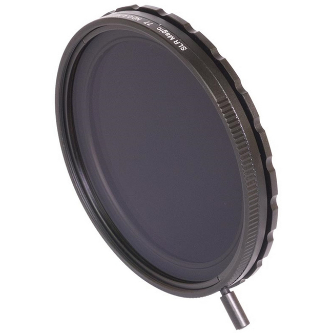 SLR Magic Variable ND filter (77mm rear thread 86mm front)