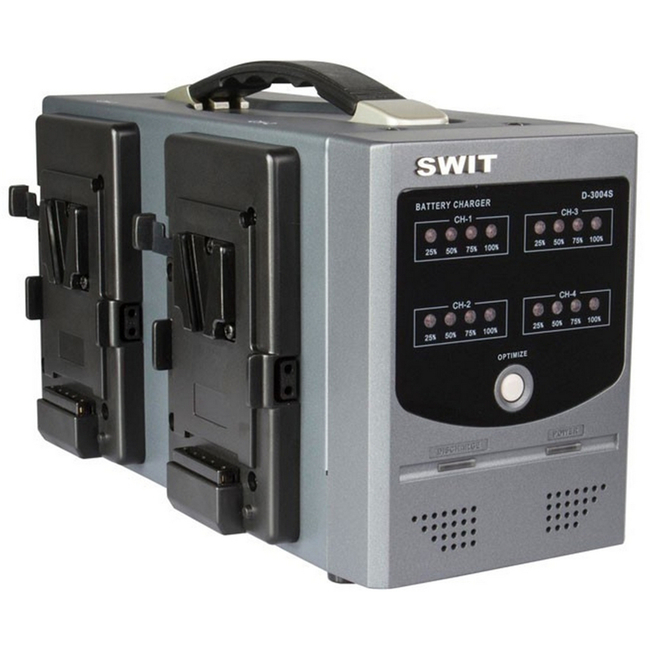 Swit: 4 Channel Digital, Intelligent Simultaneous Charger