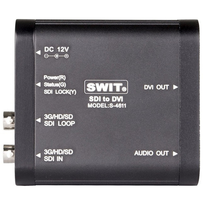 Swit: Heavy Duty SDI to DVI Converter