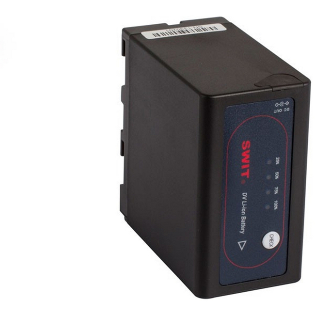 Swit: Sony NP-F Style DV Battery with Pole Jack DC Outlet, 7.2V - 47.5Wh