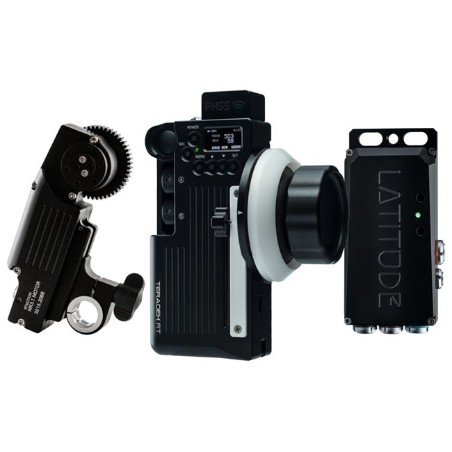 Teradek RT Wireless Lens Control Kit (Latitude-M Receiver MK3.1 Controller)