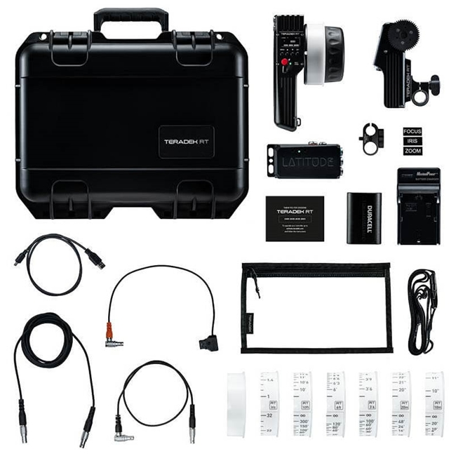 Teradek RT - Single-Axis Superspeed Wireless Lens Control Kit w/ Lens Mapping - Imperial