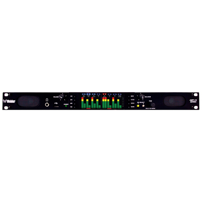 Wohler: 16 Channel Dual Input, 3G/HD/SD-SDI, Audio Monitor, 1RU