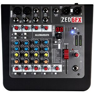 Allen and Heath: ZED-6FX