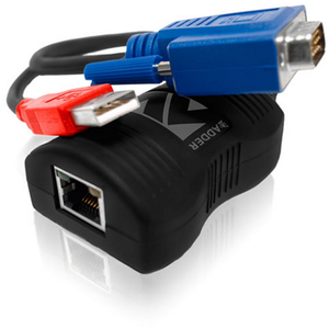 AdderLink Line Powered VGA over Cat-X cable Extender Receiver Unit