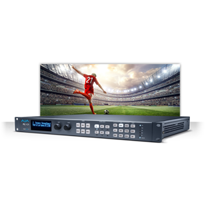 AJA: FS-HDR HDR 4K/UltraHD/2K/HD frame synchronizer and converter for HDR/SDR
