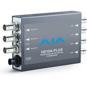 AJA: HD10A-PLUS Analog to digital HD/SD-SDI Mini-Converter