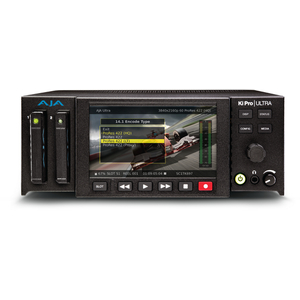 AJA: KI-PRO-ULTRA Ki-Pro UltraHD and 2K/HD Recorder/Player with 4K 60p Support