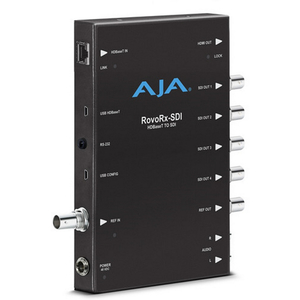 AJA: ROVORX-SDI UltraHD/HD HDBaseT Receiver to 6G/3G-SDI and HDMI
