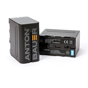 Anton Bauer NP-F976 7.2V Battery 6600mAh (47WH)