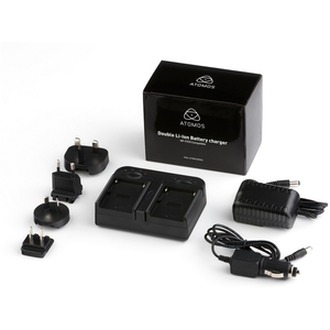 Atomos: Dual Battery Charger (for two NP-570 batteries)