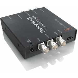 Blackmagic: Sdi To Analogue Mini Converter