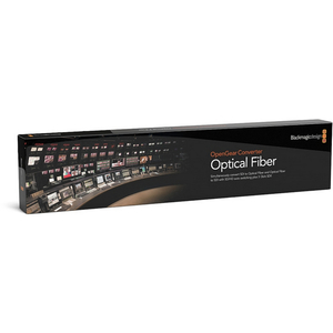 Blackmagic: OpenGear Converter - Optical Fiber