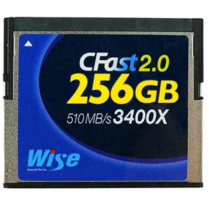 Cfast 2.0 256Gb Card - Blackmagic Ursa Canon C300mkii & Canon Xc-10 Compatible