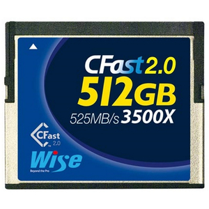 Cfast 2.0 512Gb Card - Blackmagic Ursa Canon C300mkii & Canon Xc-10 Compatible