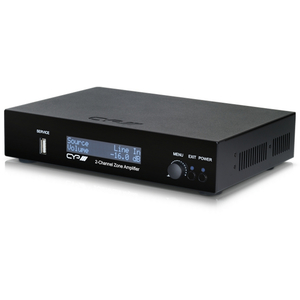 CYP: AU-A50 Integrated 2 Channel Zone Amplifier (Audio Only)