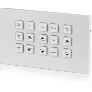 CYP: CR-KP1 15 Button Control Keypad - IP & Relay (2-gang)