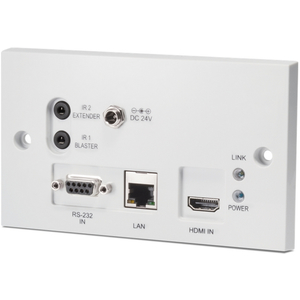 CYP: PU-607BDWP-TX 4K HDMI over 1x CAT5e/6/7 HDBaseT Wall Plate Transmitter