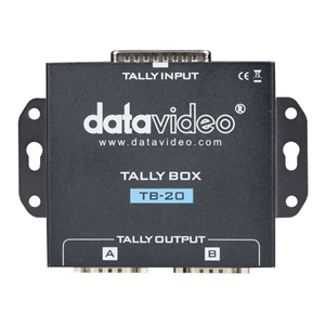Datavideo: TB-20 Tally Box Converter (ITC-100/200 connected to Panasonic Switchers)