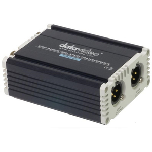 Datavideo: DAC-80 2 Channel Audio Isolation Transformer