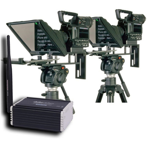 Datavideo: DVP-100 2 Camera Multi-Teleprompter Control System KIT