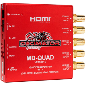 Decimator Design: MD-QUAD