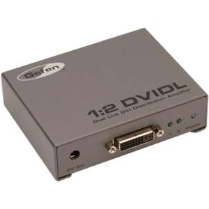 Gefen: 1:2 Dual Link DVI Distribution Amplifier