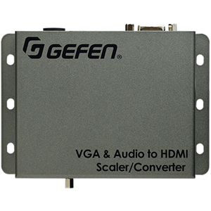 Gefen: VGA and Audio to HD Scaler / Converter