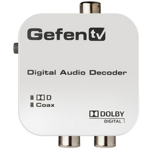 Gefen: GefenTV Digital Audio Decoder