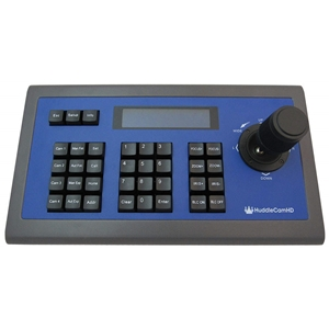 Huddlecam: Second Generation easy to use RS-232 PTZ Joystick Controller with sturdy metal case