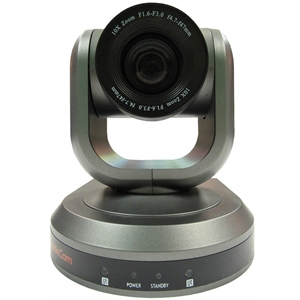 Huddlecam: PTZ Camera 10X Optical Zoom | USB 3.0 | 1080p | 61 degree FOV (Gray)