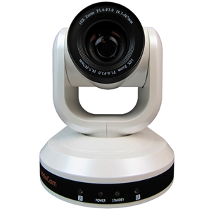 Huddlecam: PTZ Camera 10X Optical Zoom | USB 3.0 | 1080p | 61 degree FOV (White)