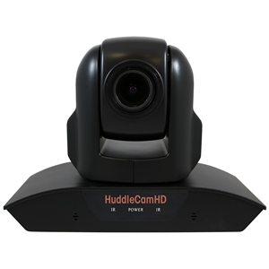 Huddlecam: PTZ Camera 10X Optical Zoom | Dual Microphone Array | USB 2.0 | 1080p | 57 degree FOV Lens (Black)