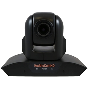Huddlecam: PTZ Camera 3X Optical Zoom | Dual Microphone Array | USB 2.0 | 1920 x 1080p | 74 degree FOV Lens (Black)