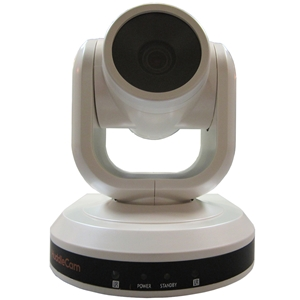 Huddlecam: PTZ Camera 3X Optical Zoom | USB 3.0 | 1080p | 90 degree FOV Sony Lens (White)