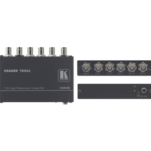 Kramer: 105VB 1:5 Composite Distribution Amplifier on BNC's