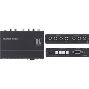 Kramer: 6502 4x1:2 S/PDIF Switcher