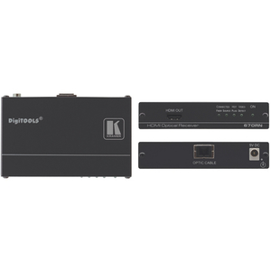 Kramer: 670RN 4K HDMI Fibre Optic Receiver Multimode OM3 (SC) 400m