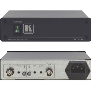 Kramer OC-1N: Single Channel Video/Sync Optical Isolator