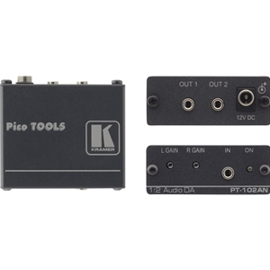 Kramer PT-102AN: 1: 2 St-Audio Distribution Amplifier