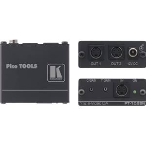 Kramer PT-102SN: 1: 2 S-Video Distribution Amplifier