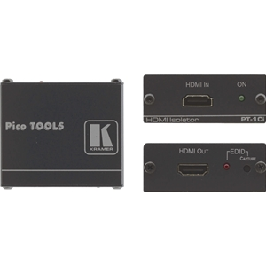Kramer PT-1CI: HDMI EDID Isolator prevent hacking of EDID by isolating Data line