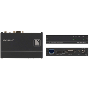Kramer: TP-580RXR HDMI, Bidirectional RS-232 & IR over Extended Range HDBaseT Receiver