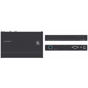 Kramer: TP-780R 4K 60Hz HDMI, RS-232, IR over HDBaseT Receiver with POE