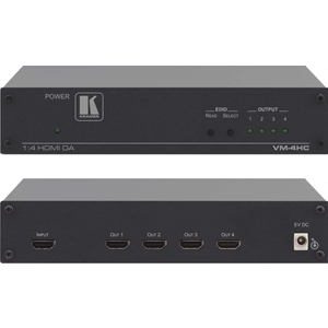 Kramer VM-4HC: 1:4 HDMI Distribution Amplifier (HDCP) V 1.4