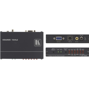 Kramer: VP-409 CV / YC to VGA-UXGA/WUXGA Scaler (to 1900x1200)