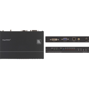 Kramer: VP-417 CV / YC up to WUXGA & 1080p on HD-15 and DVI